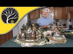 ▶ Build A Display For Collectible Houses - Model Scenery | Woodland Scenics - YouTube