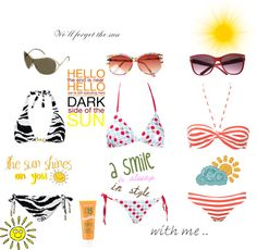 """Sun"" by giiovanag on Polyvore"