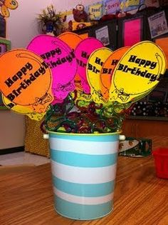 Great make ahead of time birthday gifts for students
