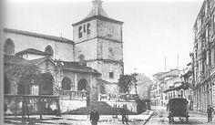 Iglesia San Nicolás de Bari, Calle San Francisco, Avilés, Asturias #Spain