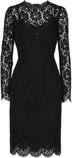 Dolce & Gabbana Lace dress on shopstyle.co.uk
