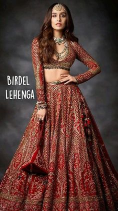 Asian Bridal Dresses, Indian Gowns Dresses, Indian Bridal Outfits, Indian Bridal Fashion, Indian Fashion Dresses, Dress Indian Style, Bollywood Bridal, Bollywood Fashion, Wedding Lehenga Designs