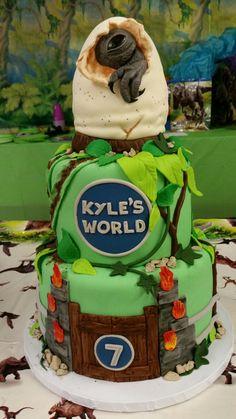 Image result for jurassic world cake