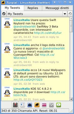 Turpial, a very good Twitter Client for Linux - Turpial un ottimo Client Twitter per Linux