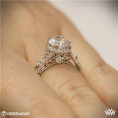 Verragio Twisted Split Shank Diamond Engagement Ring Love this one too Future husband better be ready to pay up lol