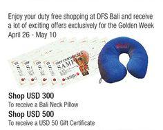 DFS Galleria Bali - Golden Week Sp Event