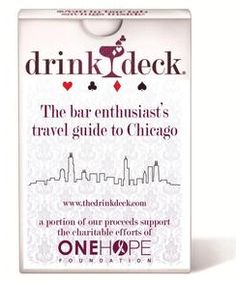 Valentine's Day gifts for him: Chicago Drink Deck