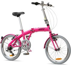 "Citizen Bike folding bike shop | Portable & Folding Bikes | MIAMI Citizen Bike 20"" 6-speed Folding Bike with Steel Frame"