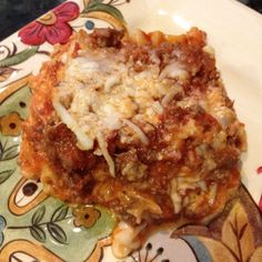 Venison Lasagna Sauce Layer - 2 lbs. Venison Sausage - 1 Onion - 1 T Minced Garlic - 2 T Italian Seasoning - 44 oz. Jar Favorite Spaghetti Sauce Cheese Layer - 32 oz. Ricotta Cheese - 5 oz. 3 Cheese Italian  - 1 Egg - 2 T Italian Seasoning Other Ingredients - Lasagna Noodles - Mozzarella   Cook and Mix Sauce Layer ingredients. Mix  together Cheese Layer. Cook Noodles. Layer 9x13 pan Noodles, Cheese Layer, Sauce Layer, Mozzarella. Repeat till all ingredients used (may have some noodles and sauce  Venison Sausage Recipes, Ground Venison Recipes, No Noodle Lasagna, Lasagna Noodles, Family Recipes, Family Meals, Lasagna Sauce, Spaghetti Sauce, Italian Seasoning