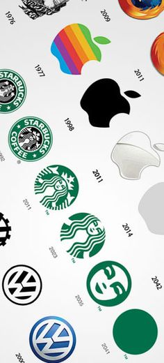 The Past and The Future of Famous Logos #parody