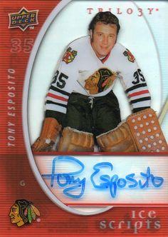 Phil Esposito, Hockey Hall Of Fame, Nhl Players, Black Hawk, Hockey Cards, National Hockey League, Ice Hockey, Hawks, Centre