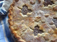 Přikrytý ořechový koláč Desert Recipes, Apple Pie, Ham, Cheesecake, Deserts, Food, Apple Cobbler, Hams, Desserts