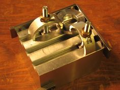 Tooling block has T-slots sized to fit a range of miniature clamps Wood Projects For Kids, Woodworking Projects For Kids, Diy Wood Projects, Project Ideas, Engineering Tools, Machinist Tools, Metal Working Tools, Wood Working, Maker Shop