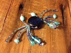 beaded blue crab