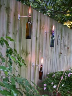 Wine Bottle Tiki Torch!!!
