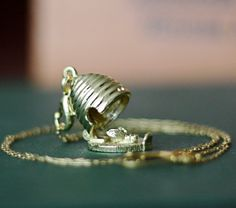 Honey Bee Hive Locket Necklace