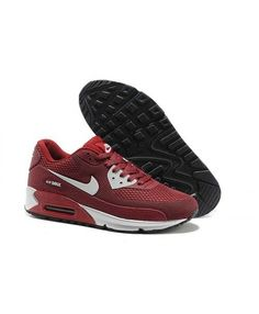 Men'S Women'S Nike Air Max 90 KPU Wine Red Silver Shoes Nike Air Max For Women, Mens Nike Air, Nike Men, Blue Sneakers, Air Max Sneakers, Sneakers Nike, Silver Shoes, Shoes Uk, Air Max 90