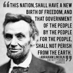 150th Anniversary of the Gettysburg Address was November 19, 2013