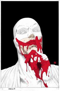 Mark Millar/Steve McNiven Next Project: 'Nemesis' Revealed - Comic Vine Comic Book Characters, Comic Books Art, Comic Art, Fictional Characters, Marvel Comics, Bd Comics, Steve Mcniven, Illustrations, Illustration Art