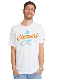 ELEMENT DESTINATION T-SHIRT WHITE www.fourseasonsclothing.de  #elementskateboards #element #new #shirt #t-shirt