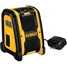 Dewalt 12-volt And 20-volt Bluetooth Speaker
