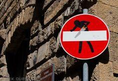 Znaki Florencji - (2014-07-06),  Street Art sign Florence