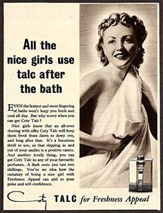 'Coty Talc' - Wonderful A4 Glossy Print Taken from A Vintage Product Ad by Design Artist http://www.amazon.co.uk/dp/B00PFOY0PW/ref=cm_sw_r_pi_dp_0T2rvb0RSP7SZ