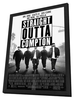 Straight Outta Compton 11x17 Framed Movie Poster (2015)