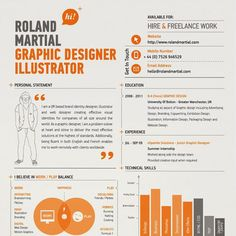 Cool Resume Designs Image Result For Cool Resume Design  Resume Designs  Pinterest