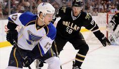 Vladimir Sobotka One Of NHL's Hardest Working Players