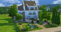 Anthea house at Studio Sims Creation via Sims 4 Updates