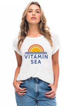 Vitamin Sea Loose Tee