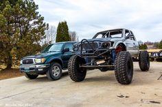 Toyota Tacoma Off Road, Toyota 4, Toyota Trucks, Tacoma World, Trophy Truck, Expedition Vehicle, Dream Garage, Custom Trucks, Land Cruiser