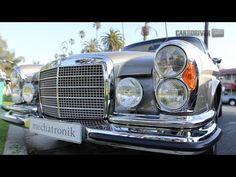 1971 Mechatronik Mercedes-Benz 280SE 3.5 Vs. 2012 Mercedes-Benz CL63 AMG [Car and Driver]
