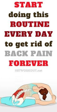 Try our 15-minute every day routine which won't only help you get rid of the pain, but will too prevent them from coming ever again. #painrelief #tips #backpain #yoga #exercises