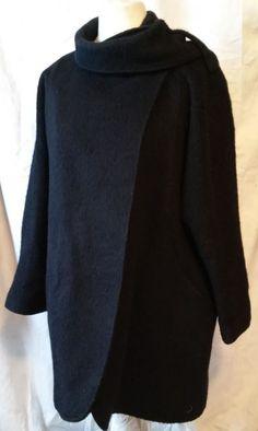 #twitter#tumbrl#instagram#avito#ebay#yandex#facebook #whatsapp#google#fashion#icq#skype#dailymail#avito.ru#nytimes #i_love_ny     HUCKE women's wool black coat size 4XL #HUCKE #BasicCoat