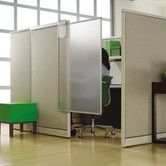 Found it at Wayfair - Workstation Privacy Screen.