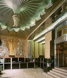 art deco interior design   Art deco interiors with a touch of Great Gatsby glamour   Shopping ...