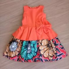 Zahra Pictures of Ankara Dresses for Children 2020 Frocks For Girls, Gowns For Girls, Dresses Kids Girl, Kids Outfits Girls, Girl Outfits, Fashion Outfits, Baby African Clothes, African Dresses For Kids, Latest African Fashion Dresses