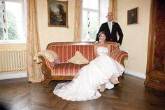 hochherrschaftliches Hochzeitsportrait | Clodie und Steffen - Angela Pfeiffer
