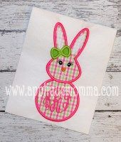 Girly Easter Bunny 2014-2 Design