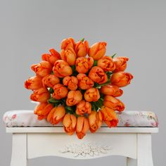 #tulips #orange #flowers #spring #florist #flowershop #springflowers
