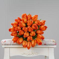 #tulips #orange #flowers #spring #florist #flowershop #springflowers