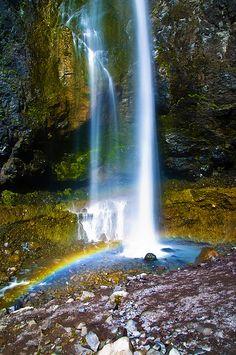 Comet Falls - Mt. Rainier National Park