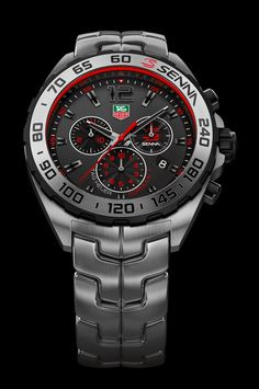 Your first look at the TAG Heuer Formula 1 Ayrton Senna Edition and TAG Heuer Carrera Ayrton Senna Edition (Ref. - Page 2 Best Kids Watches, Amazing Watches, Beautiful Watches, Cool Watches, Stylish Watches, Luxury Watches For Men, Swiss Watches For Men, Tag Heuer Formula, Timex Watches