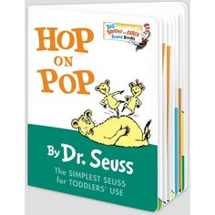 Hop on Pop ( Big Bright and Early Board Books)