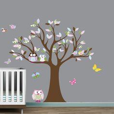 Pottery Barn Kids Inspired Nursery Decal- Got this for Baby Girl's nursery!!!