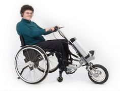 Handlebar Attachment Turns a Wheelchair Into a Scooter | Gadgets, Science~ this would rock