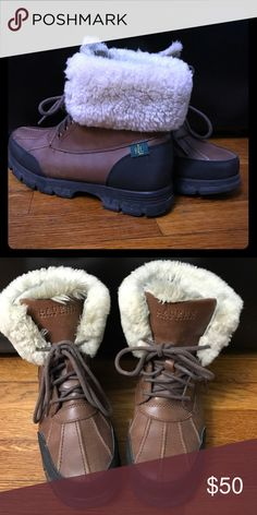 Lauren Ralph Lauren Snow Boots Gently used. Lauren Ralph Lauren Shoes Winter & Rain Boots