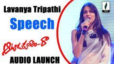 Lavanya Tripati Speech At Aatadukundam Raa Audio Launch - Venusfilmnagar